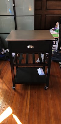 black wooden 2-drawer nightstand Baltimore, 21230