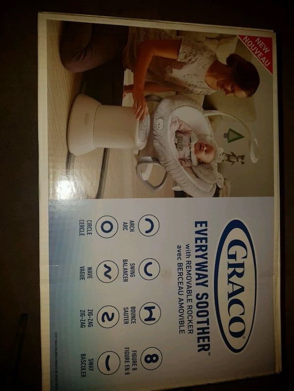 BNIB Graco everyday soother.  b9176f6a-08e0-4902-a485-4631b8dec304