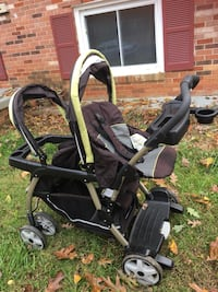 Baby's black and gray tandem stroller Woodbridge, 22193