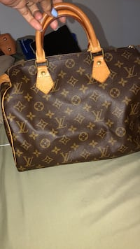 brown Louis Vuitton leather tote bag Montréal, H1C