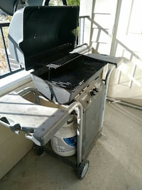 Gas grill (Charbroil brand)