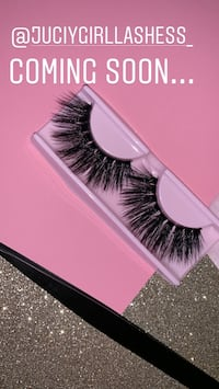 Mink fake lashes (COMING SOON) please read!