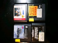 Lot of 4 Vintage Sega Genesis Games Yonkers