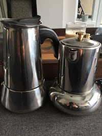 Stainless steel espresso coffee makers stove top Vaughan, L4L 2S7