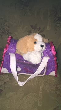 kids plush talking dog with purse Little River, 29566
