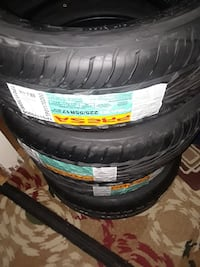4 tires 225/55/17 vehicle tire set