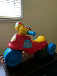 Vtech 2 in 1 learn and zoom motorbike Richmond Hill, L4C 2X3