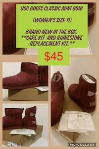BRAND NEW Ugg Short Mini Boots. Size 11