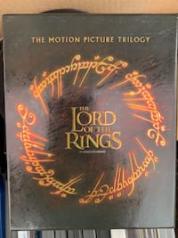The Lord of the rings trilogy on Blu-ray Denver, 80210