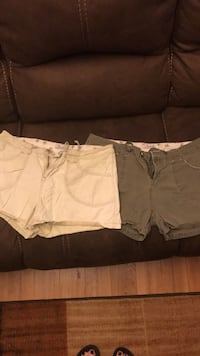 2 pair  union bay shorts size 13 Sweetwater, 37874