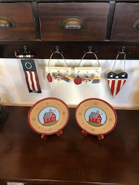 Primitive Wood Plates and Teacher Hangings Germantown, 20874
