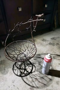 HAND MADE IRON BASKET