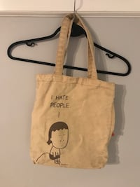 """I hate people"" bag w/ secret pocket  Kelowna"