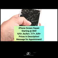 iPhone Screen Repair Starting @ $65!  Albuquerque, 87107