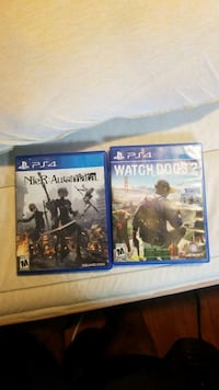 two assorted PS4 game cases San Jose, 95112