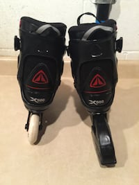 Men's Size 7 Firefly Soft Fit X500 Inline Rollerblades