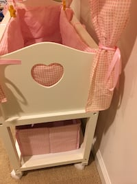 Canopy Doll Crib with baskets, bedding, and mobile Clarksburg, 20871