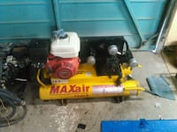yellow Maxair air compressor Calgary, T2K 2J8