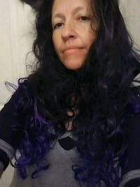 Long curly black /purple Chattanooga, 37411