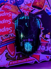 Light up wired gaming mouse Edmonton, T5W 0Y9
