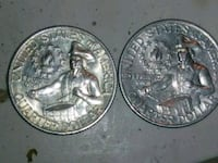 two round silver-colored coins Orlando, 32808
