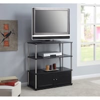 Highboy TV Stand: (TV NOT INCLUDED) $62 Houston, 77092