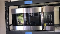 New over the range microwave 30in with 6 months warranty