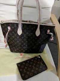 Brand New Louis Vuitton leather tote bag  Surrey, V3W 0L7