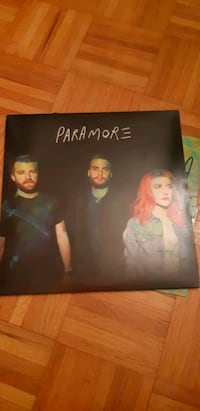 paramore self-titled LP repress Vinyl