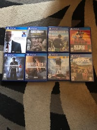 Ps4 games look in description for prices Port Moody, V3H