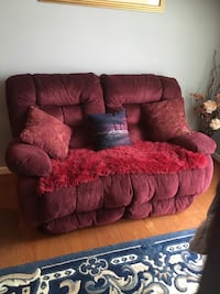 Recliner, loveseat and couch