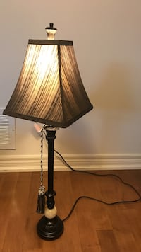 Bombay Black table lamp