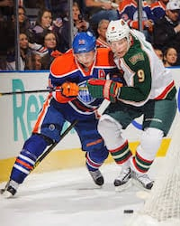 Oilers vs Minnesota Wild Dec 7 Sherwood Park