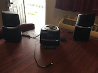 Jensen digital docking music system for iPod & iphone