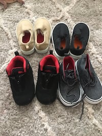 Shoes 4 boys 1 brand new 3 like new all $10  Leesburg, 20176