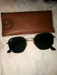 gold framed Ray Ban aviator sunglasses with case Westbank, V4T 2W3
