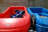 red and blue plastic car toys Guaynabo, 00969