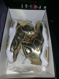 Limited edition Jordan Gold 6s Lithonia, 30038