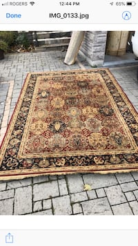 Brown and black floral area rug Richmond Hill, L4S 1P8