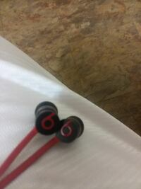 black and red Power Beats by Dr. Dre Houston, 77094