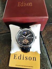 Edison Automatic Sapphire Moon Face Watch