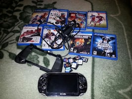 PSVita, assorted PSVita game selling all TOGETHER excellent