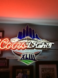 coors light neon signage Palm Harbor, 34684