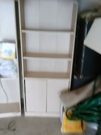 Book Case (4 Shelf) White Wash
