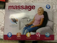 massage seat topper with soothing heat box Norridge