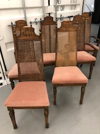 6 chairs + dining table Surrey, V3V 3H2
