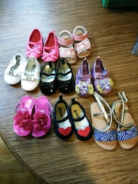 Mk 25$ Disney 25$ for the shoes others are 5$ each New Britain, 06051