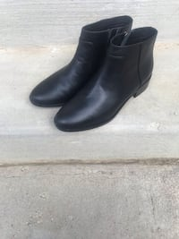 Pair of black leather boots Silver Spring, 20910