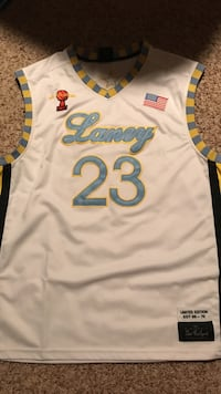 Authentic Michael Jordan high school throwback Omaha, 68116
