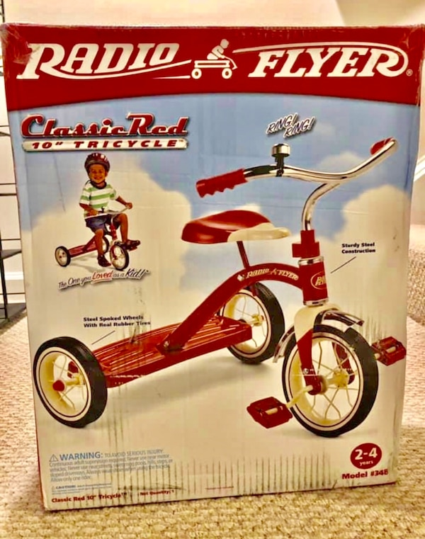 New In The Box, Radio Flyer Tricycle